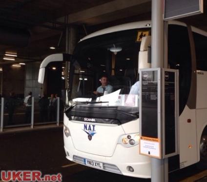 卡迪夫大学接机巴士