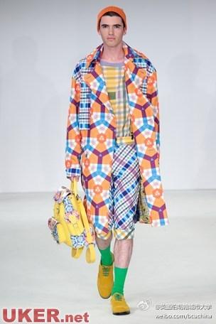 伯明翰艺术设计学院时尚专业发布2015最新时装作品